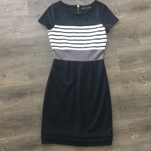 The Limited striped dress, size XS